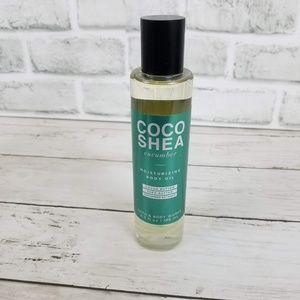 Bath & Body Works Coco Shea Cucumber Body Oil